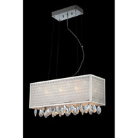 Lite Source EL-10094 Santuzza 14 Light 24 inch Polished Chrome and Clear Chandelier Ceiling Light