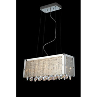 Lite Source EL-10095 Santuzza III 14 Light 24 inch Polished Chrome and Clear Chandelier Ceiling Light
