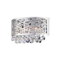 Lite Source Signature 3 Light Wall Sconce in Chrome EL-10102
