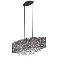 Lite Source Benedetta 5 Light Pendant in Espresso EL-10103ESP