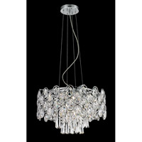 Cashlin 9 Light 20 inch Chrome Pendant Ceiling Light