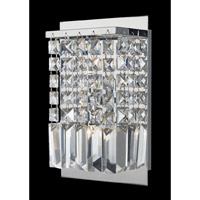 Lite Source Helanie 2 Light Wall Lamp in Chrome EL-10115