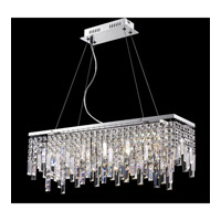 Lite Source Helanie 6 Light Pendant in Chrome EL-10117