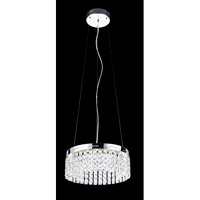 Lite Source EL-10121 Alecia I LED 14 inch Chrome Chandelier Ceiling Light