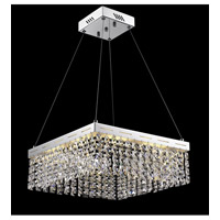 Alecia LED 16 inch Chrome Chandelier Ceiling Light