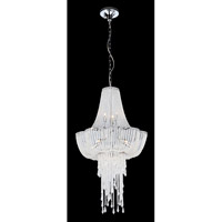 Paaveli 9 Light 20 inch Chrome Chandelier Ceiling Light