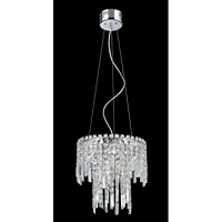 Helanie 6 Light 14 inch Chrome Chandelier Ceiling Light