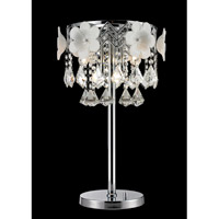 Lite Source Daisy 5 Light Table Lamp in Chrome EL-30113