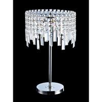Lite Source Helanie 5 Light Table Lamp in Chrome EL-30127