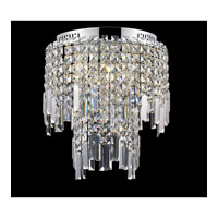 Lite Source Helanie 6 Light Flush Mount in Chrome EL-50127