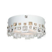 Lite Source EL-50133 Isabella 3 Light 14 inch Flush Mount Ceiling Light