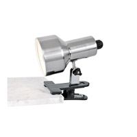 Lite Source Clip-on II 1 Light Clamp-on Lamp in Polished Steel LS-114PS photo thumbnail