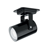 Lite Source Mini Spot 1 Light Wall Lamp in Black LS-117BLK