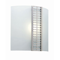 Lite Source Aurora 1 Light Sconce in Polished Steel LS-1197PS/FRO
