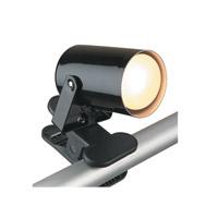 Lite Source LS-119BLK Mini Spot 5 inch 25 watt Black Desk Lamp Portable Light