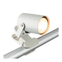 Lite Source Mini Spot 1 Light Clamp-on Lamp in White LS-119WHT