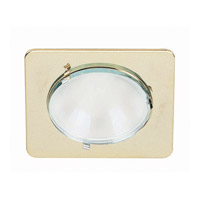 Lite Source Mini Lite 1 Light Micro Recessed in Brass with Frost Lens LS-1203BF