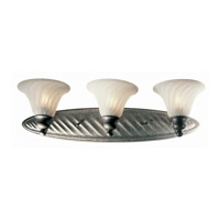 Sonata 3 Light 24 inch Pewter Vanity Wall Light