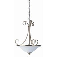 Lite Source LS-14832AB/CLD Renaissance 2 Light 15 inch Antique Brass Pendant Ceiling Light