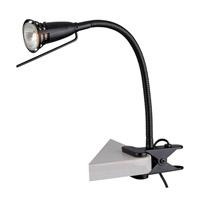 Lite Source Seeker 1 Light Clamp-on Lamp in Black LS-156BLK