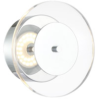 Lite Source LS-16068 Otoniel 1 Light 7 inch Chrome Wall Lamp Wall Light