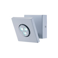 Lite Source Zella LED Wall Lamp in Silver LS-16101