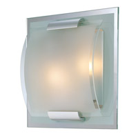 Lite Source Delano 2 Light Sconce with Glass Shade LS-16105
