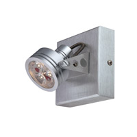 Lite Source Elaxi LED Wall Lamp in Aluminum LS-16141ALU