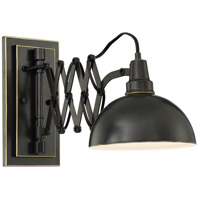 Armstrong 1 Light 6 inch Dark Bronze Wall Lamp Wall Light