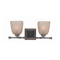 Nita 2 Light 18 inch Copper Bronze Vanity Wall Light