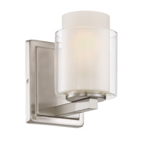 Lite Source Eliseo 1 Light Wall Lamp in Polished Steel LS-16321