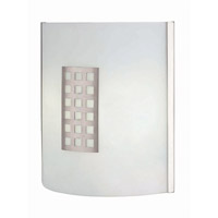 Patch 2 Light 13 inch Polished Steel Sconce Wall Light