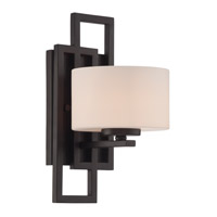 Adalyn 1 Light 6 inch Dark Bronze Wall Lamp Wall Light