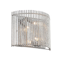Lite Source Rania 2 Light Sconce in Chrome LS-16578