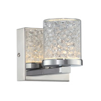 Kristen 1 Light 4 inch Chrome Wall Lamp Wall Light