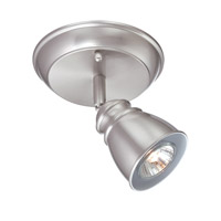 Lite Source Immaculata 1 Light Flush Mount in Polished Steel LS-16711