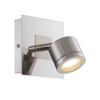Lite Source Michi LED Wall Lamp in Polished Steel LS-16726