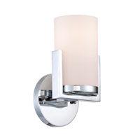 Lite Source LS-16811 Caesarea 1 Light 5 inch Chrome Wall Sconce Wall Light