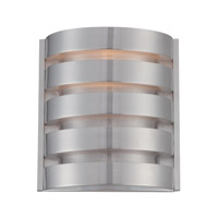 Lite Source Macreae 1 Light Wall Sconce in Aluminum LS-16815