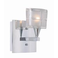 Lite Source LS-16981C/CLR Iskyla 1 Light 6 inch Chrome Wall Sconce Wall Light
