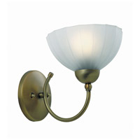 Lite Source Alani 1 Light Wall Lamp in Bronze with Frost Glass LS-17151BRZ/FRO