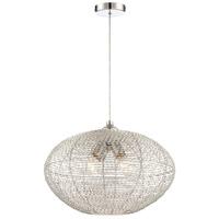 Lite Source LS-18998 Faviola 4 Light 18 inch Chrome Pendant Ceiling Light