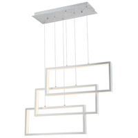 Lite Source LS-19514ALU Pankler 3 Light 37 inch Pendant Ceiling Light