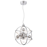 Lite Source LS-19577 Marilyn LED 19 inch Chrome and Clear Pendant Ceiling Light photo thumbnail