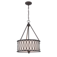 Tacey 3 Light 17 inch Dark Bronze Pendant Ceiling Light