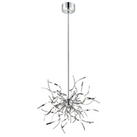Ferill 12 Light 19 inch Chrome Pendant Ceiling Light