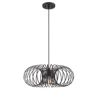 Walworth 1 Light 19 inch Black Pendant Ceiling Light
