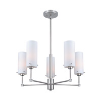 Lite Source Scarlett 5 Light Chandelier in Polished Steel LS-19755