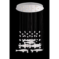 Lite Source Seabright 18 Light Chandelier in Chrome LS-19766