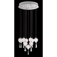 Lite Source Lucinda 19 Light Chandelier in Chrome LS-19767